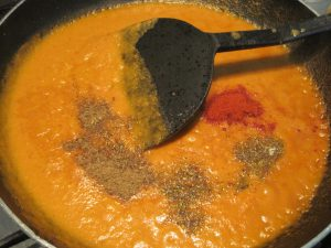 Adding Spices