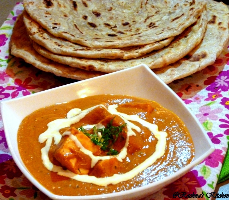 Paneer Butter Masala - Cook For IndiaCook For India