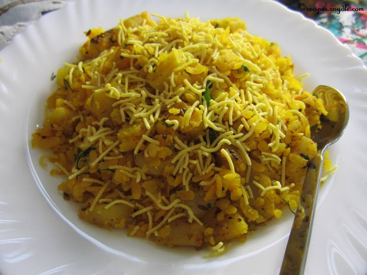 Kanda Batata Poha Onion Potato Poha Cook For Indiacook