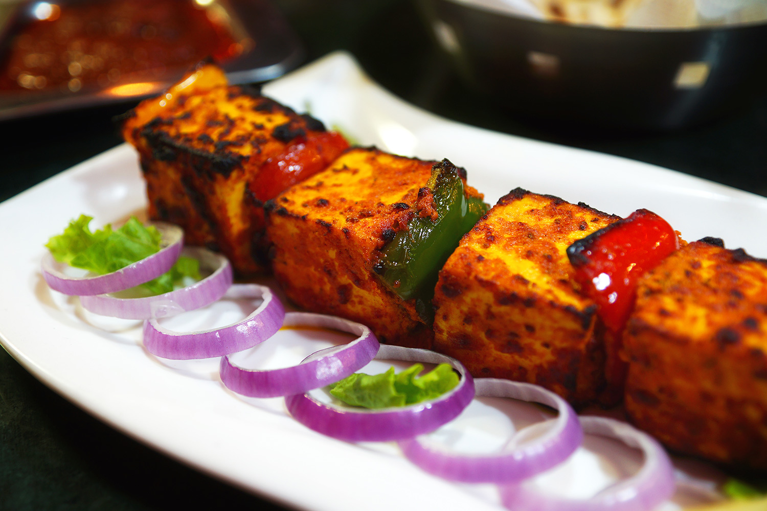 Paneer Tikka Cook For Indiacook For India