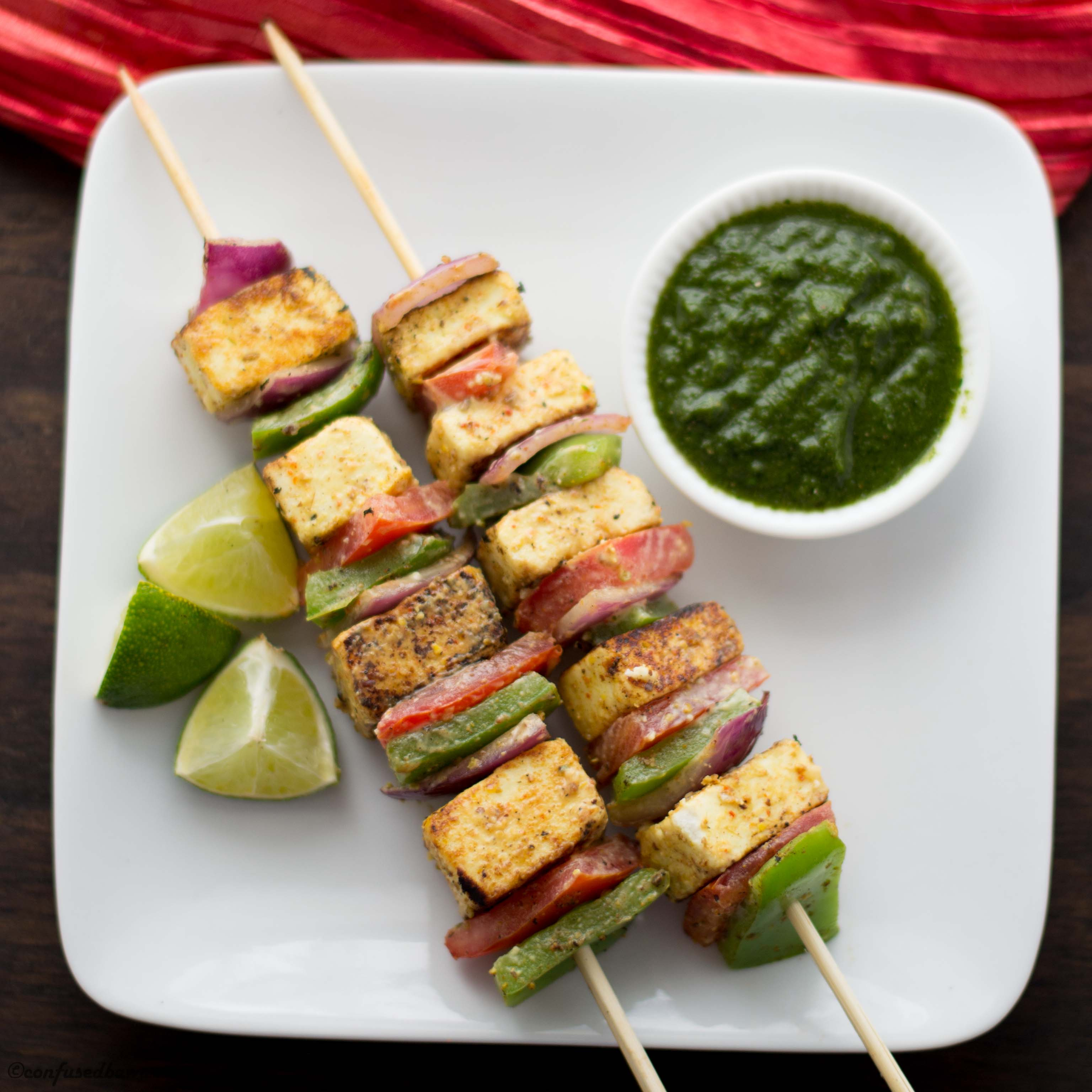 Paneer Tikka - Cook For IndiaCook For India